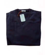 Battisti Sweater: Navy Blue