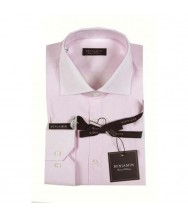 Benjamin Dress Shirt: Pink