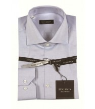 Benjamin Dress Shirt: Blue