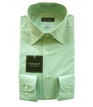 Benjamin Dress Shirt: Green