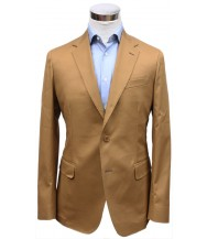 Bella Spalla Sport Coat: Tan