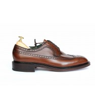 Carmina Brown Vegano Leather Brogue Derby