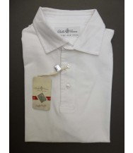 Della Ciana Polo Shirt: XX-Large Short Sleeve Solid White