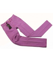 PT05 Jeans: Fuchsia Striped