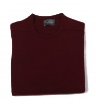 The Wardrobe Sweater: Bordeaux