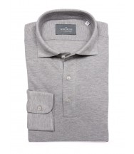 The Wardrobe Long Sleeve Polo Shirt