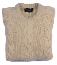 The Wardrobe Sweater: Small Tan